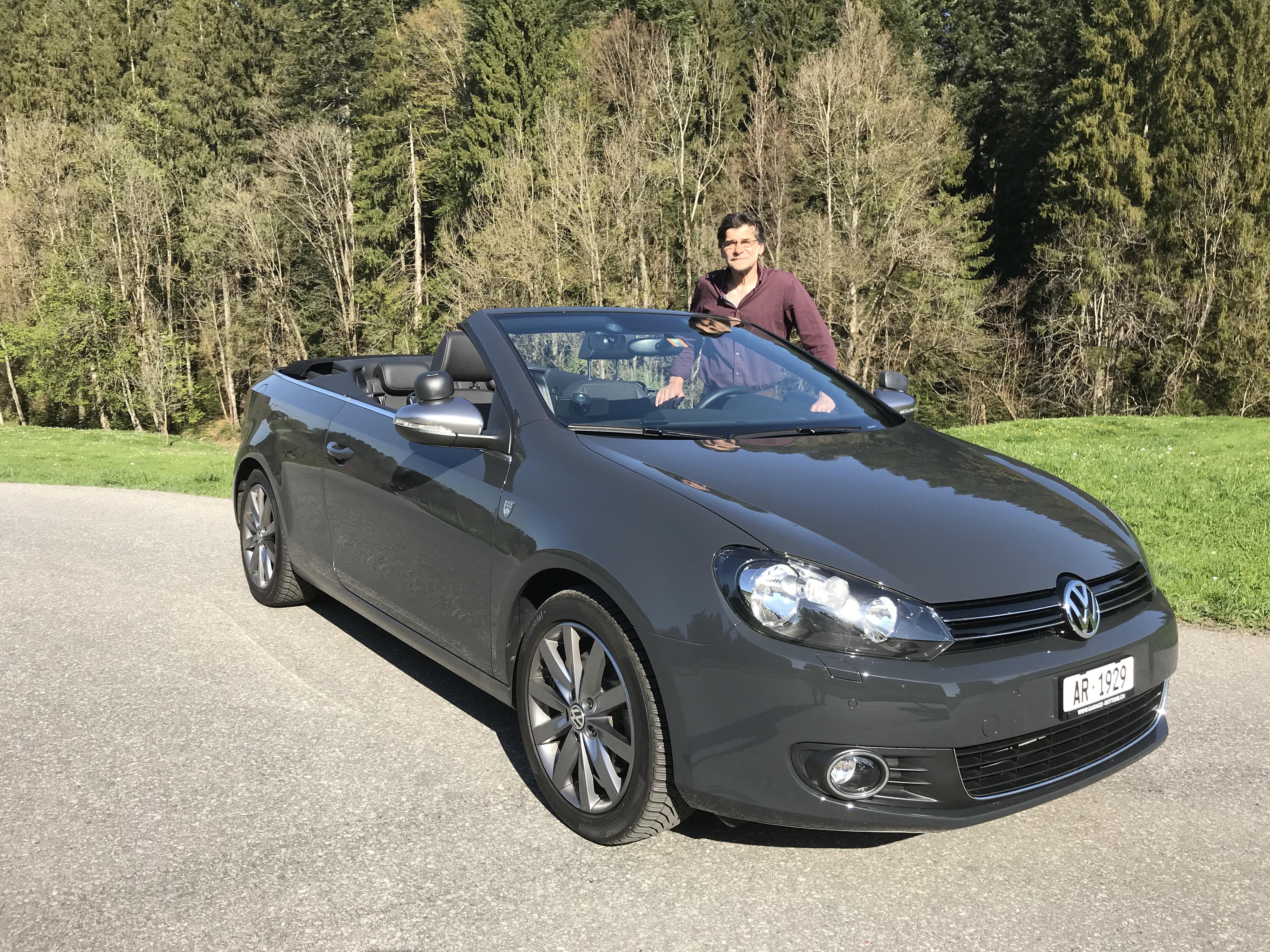 Fahrlehrer mit Cabrio in St.Gallen